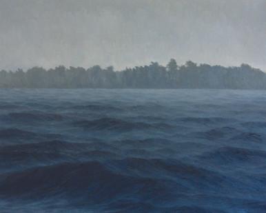 Jake Aikman   N10.870396, W85.900925   2013   Oil on Canvas   80 x 100 cm