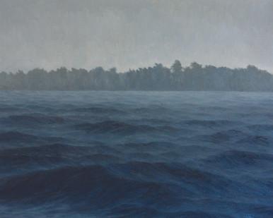 Jake Aikman | N10.870396, W85.900925 | 2013 | Oil on Canvas | 80 x 100 cm