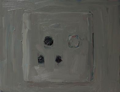 Anton Karstel | Property (Atteridgeville) 2 | 2014 | Oil on Canvas | 27.5 x 36 cm