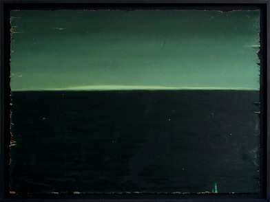 Jake Aikman | Event Horizon | 2017 | Oil on Board | 121 x 165 cm