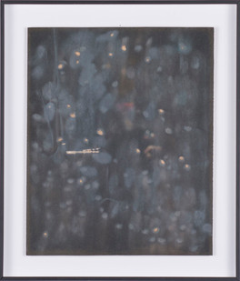 Ruann Coleman | Chafe II | 2017 | Sandpaper Drawing | 27.5 x 22 cm