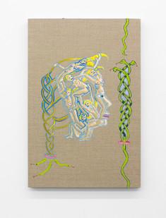 Marlene Steyn | Sssplitendsss | 2016 | Oil on Linen | 60 x 40 cm