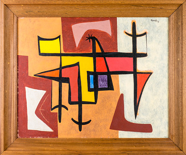 Albert Newall | Untitled | 1953 | Oil on Board | 39 x 49 cm