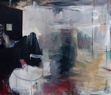 Kate Gottgens | Interior: Float Glass | 2013 | Oil on Canvas | 130 x 150 cm