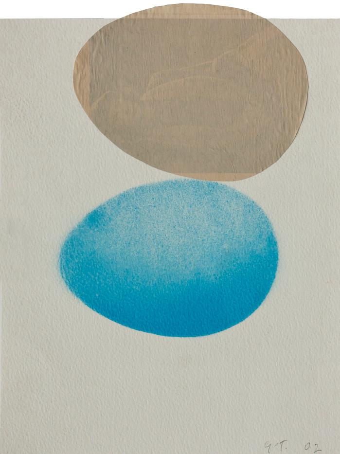 Gavin Turk | Egg Collage | 2002 | Mixed Media on Paper | 26 x 20 cm