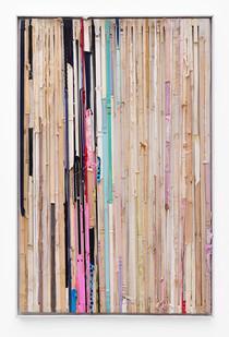 Kresiah Mukwazhi | Cut From A Different Cloth | 2018 | Mixed Media | 141 x 90 cm