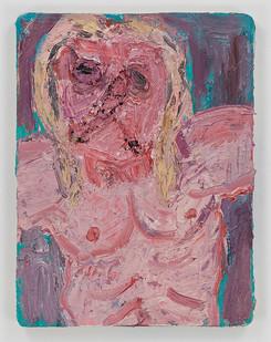 Georgina Gratrix | Iggy | 2015 | Oil on Board | 40 x 30 cm