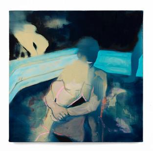 Kate Gottgens   Struggle   2019   Oil on Canvas   50 x 50 cm