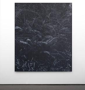 Peter Eastman | Undergrowth | 2017 | Oil on Aluminium | 185 x 150 cm