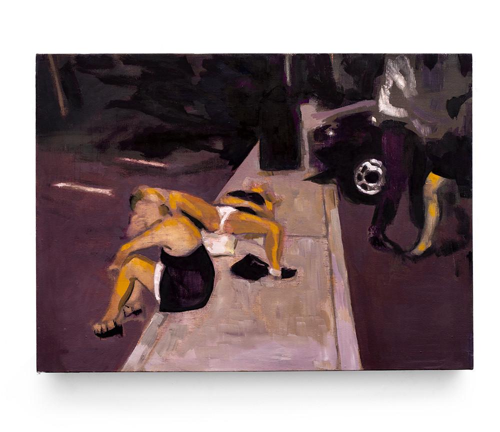 Kate Gottgens | Night Scene | 2014 | Oil on Canvas | 61 x 84 cm