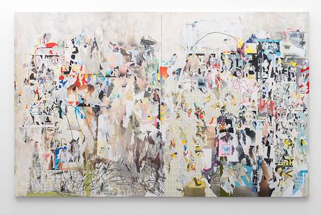 Asha Zero | r_r | 2016 | Acrylic on Board | 204.5 x 326 cm