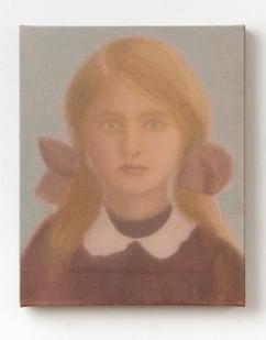 Chechu Álava | School Girl | 2020 | Oil on Canvas | 41 x 33 cm
