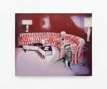 Kate Gottgens | Interior: Blur of Bone | 2020 | Oil on Canvas | 68 x 90 cm