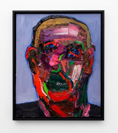 Georgina Gratrix   Smiling Head pt 2   2021   Oil on Canvas   60 x 50 cm