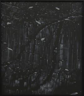 Peter Eastman   Deep Chine - Coldstream XI   2017   Oil on Aluminium   40 x 34 cm
