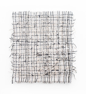 Gabrielle Kruger | Looping the Lines | 2020 | Acrylic on Board | 116.5 x 108 cm