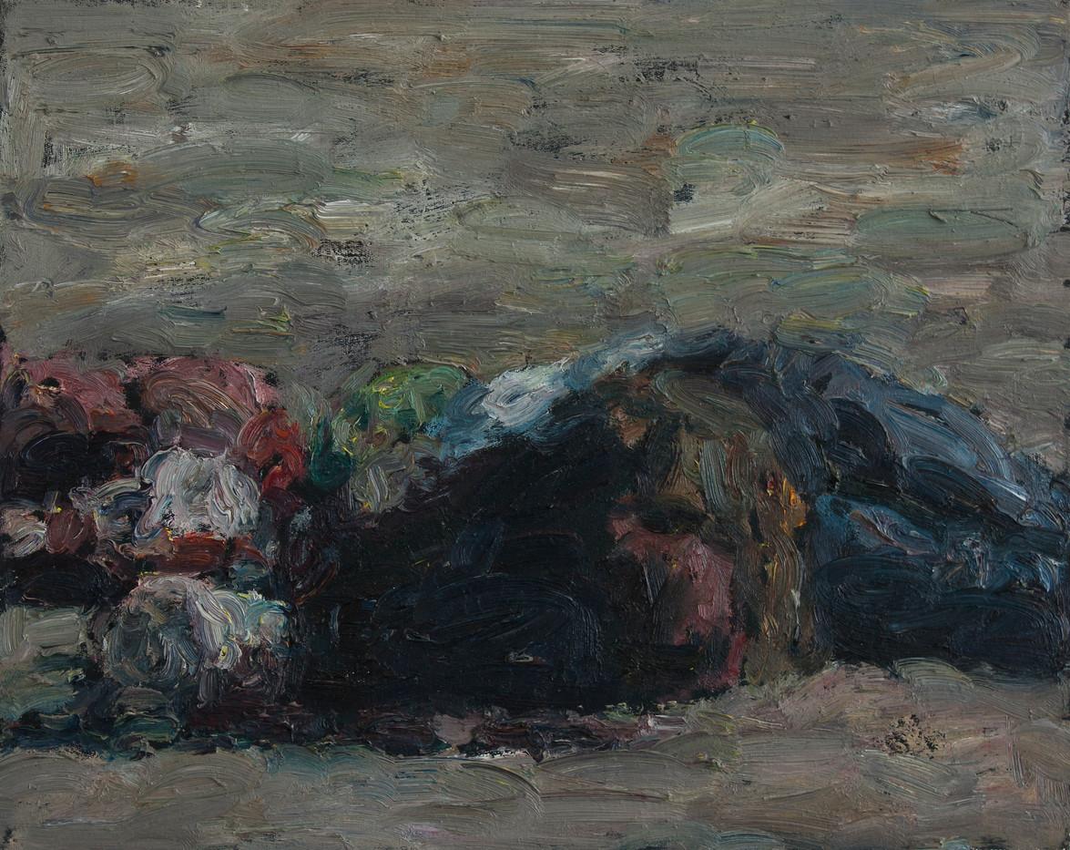 Anton Karstel | Marikana (6) | 2013 | Oil on Canvas | 40 x 54 cm