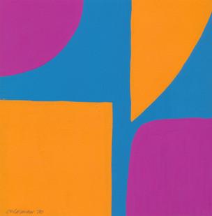 Trevor Coleman | Untitled | 1970 | Acrylic on Paper | 42 x 30 cm