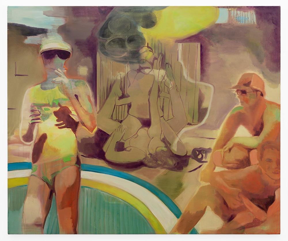 Kate Gottgens | Before the Flood | 2019 | Oil on Canvas | 125.5 x 150 cm
