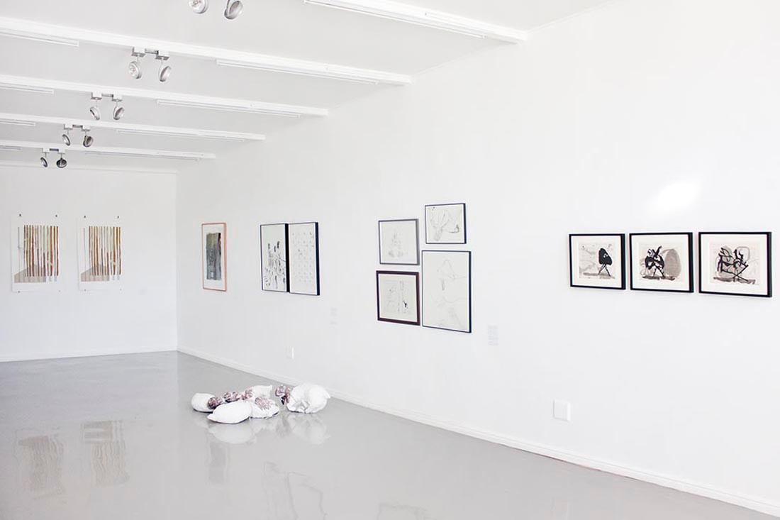 PAPERWORK: An Exhibition of Contemporary South African Works on Paper | 2014 | Installation View