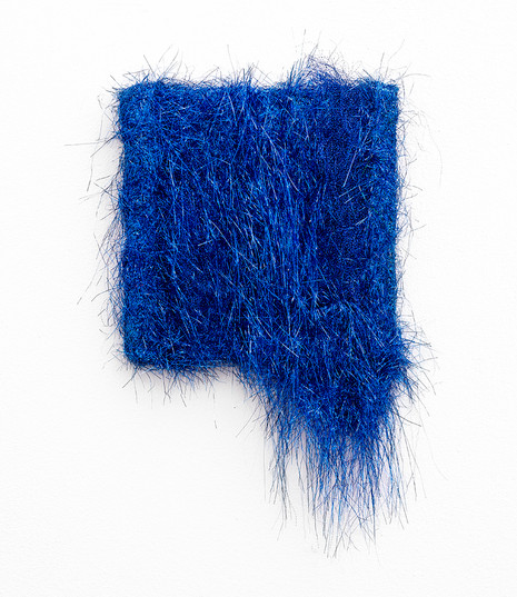 Galia Gluckman | Soirée Series (one more and that is it) | 2020 | Angel Hair and Bonding Tape on Board | 50 x 30 x 6 cm