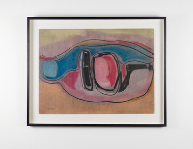 Charles Gassner   Abstract   n.d.   Mixed Media   77 x 98 cm