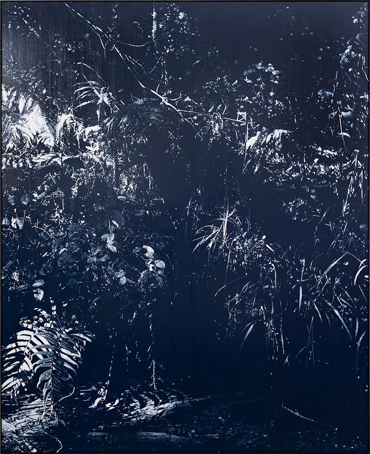 Peter Eastman   Late Riverbank Shadow   2018   Oil on Aluminium   185 x 150 cm
