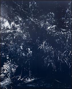 Peter Eastman | Late Riverbank Shadow | 2018 | Oil on Aluminium | 185 x 150 cm