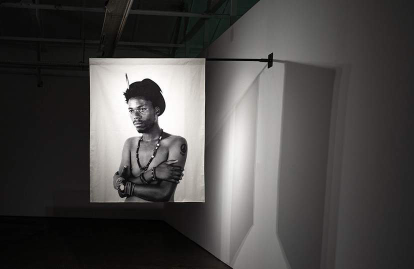 Musa N. Nxumalo | Story of O.J., After 4:44 (Nathi Danti) | 2020 | Archival Pigment Print on Hemp Linen | 160 x 130 cm | Edition of 3  + 2 AP