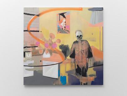 Kate Gottgens   Interior-Lost Soul   2017   Oil on Canvas   150 x 150 cm