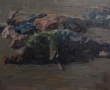 Anton Karstel | Untitled | 2013 | Oil on Canvas | 39.5 x 50 cm