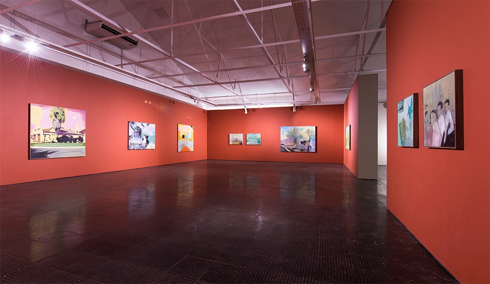 Kate Gottgens   Tired from Smiling   2017   Installation View