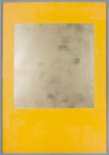 Helen A. Pritchard   Untitled - Carrier 4   2013   Oil and Pigment on Canvas   140 x 100 cm