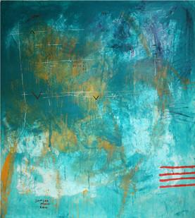 Samson Mnisi   Untitled   2010   Oil on Canvas   163 x 140 cm