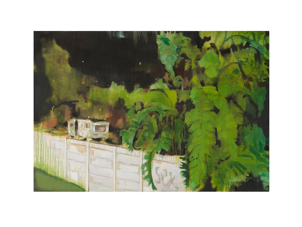 Kate Gottgens   Cabin Fever   2017   Oil on Canvas   100 x 150 cm
