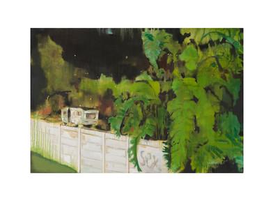Kate Gottgens | Cabin Fever | 2017 | Oil on Canvas | 100 x 150 cm
