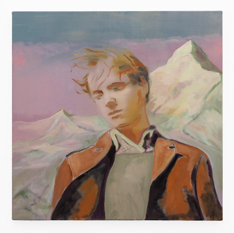 Kate Gottgens | The Distance #2 | 2019 | Oil on Canvas | 68.5 x 68.5 cm