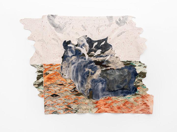 Jeanne Gaigher | Vinegar | 2020 | Acrylic on Canvas | 148 x 168 cm