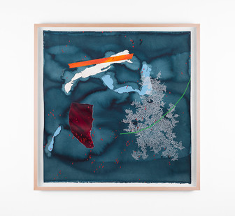 Mongezi Ncaphayi   Metamorphosen IV   2018   Indian Ink, Watercolour and Acrylic on Cotton Paper   70 x 70 cm