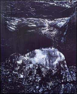 Peter Eastman | Coldstream Pool | 2019 | Oil on Aluminium | 185 x 150 cm