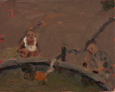 Anton Karstel | Property (Prince Albert) | 2014 | Oil on Canvas | 20.5 x 25.5 cm
