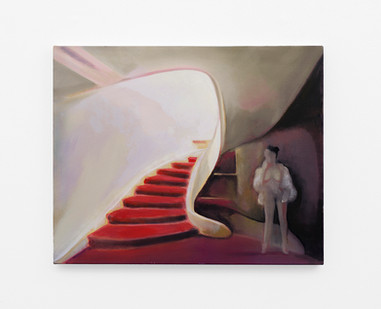 Kate Gottgens | Nude Descended | 2020 | Oil on Canvas | 62 x 76.5 cm