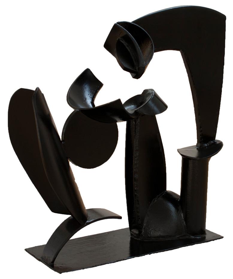 John Skotnes | Abstract Figure I | n.d. | Steel | 107 x 26 x 18 cm