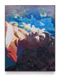 Frances Goodman | Satiated | 2017 | Mixed Media | 154 x 119 cm