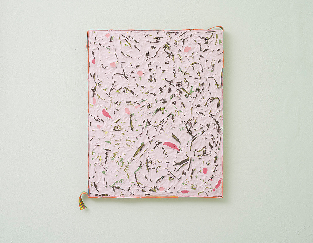 Gabrielle Kruger | Pressed Posy | 2018 | Acrylic on Board | 50.5 x 40.5 cm