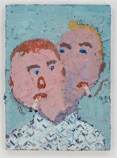 Georgina Gratrix | Rony | 2015 | Oil on Board | 70 x 51 cm