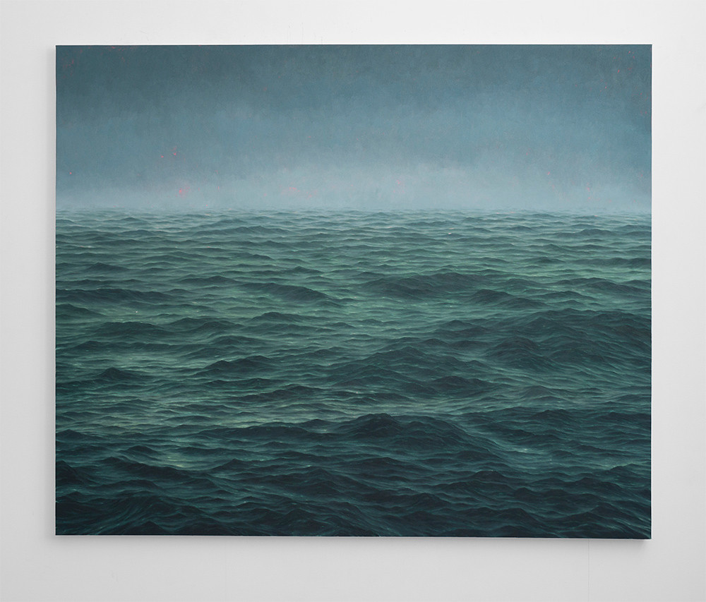 Jake Aikman | From here on out | 2016 | Oil on Canvas | 165 x 200 cm