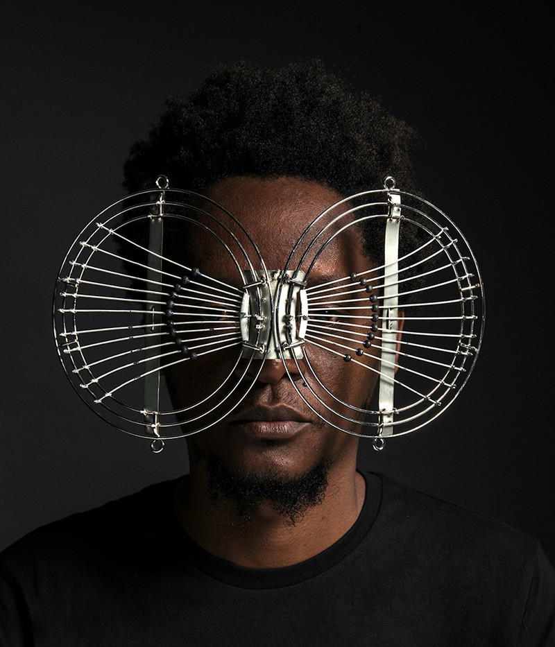 Cyrus Kabiru | Modern Mask | 2017 | C-type Print on Diasec Mount | 70 x 60 cm