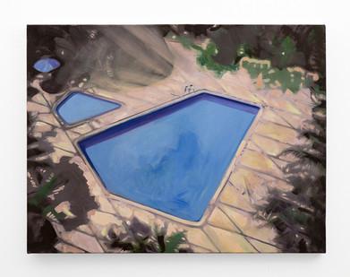 Kate Gottgens | Birds Eye View | 2018 | Oil on Canvas | 69 x 90 cm