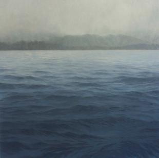 Jake Aikman   N10.862978, W86.017671   2013   Oil on Canvas   165 x 165 cm